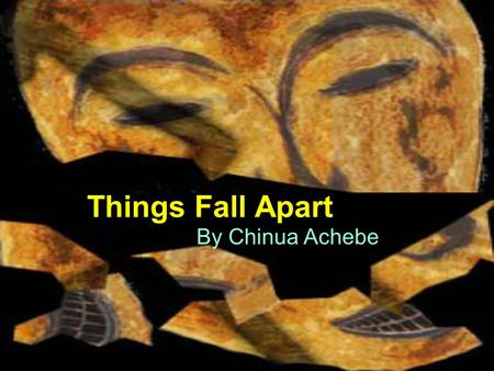 western and ibo cultures things fall Introduction chinua achebe's things fall apart is probably the  dynamic society to a western audience  throughout this novel, achebe uses the spelling ibo,.