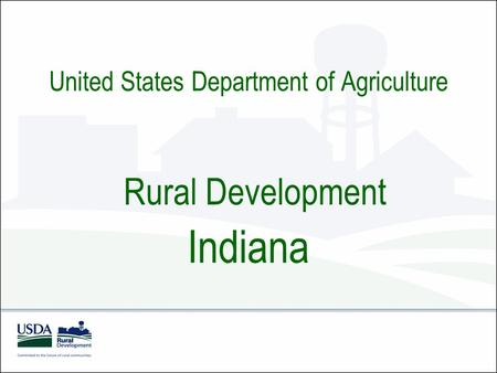 Usda Rural Development California Ppt Download