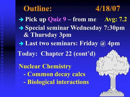 radiodating summary Summary in this activity, students gain a better understanding of radioactive dating and half-lives students use m&ms to demonstrate the idea of radioactive decay.