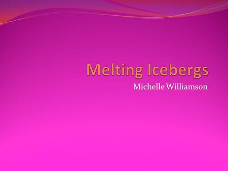 Michelle Williamson. The melting of land ice is already raising sea levels. In some fairly likely scenarios, oceans would rise by meters worldwide with.