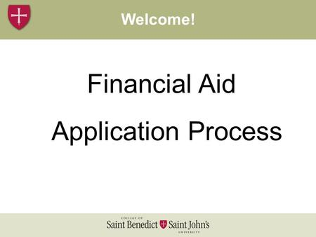 Financial Aid Application Process Costs 2005-06Welcome!