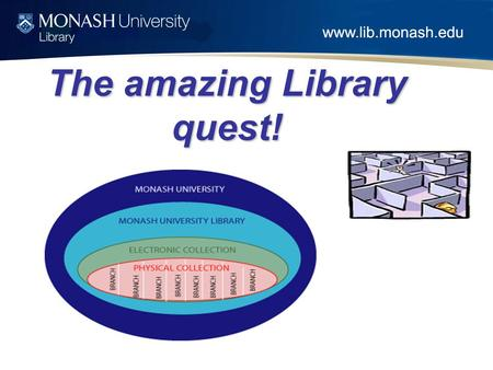 The amazing Library quest!. Aim of Session At the end of the session you will know How to search the Library CatalogueHow to search the Library Catalogue.