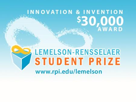 "Often called the ""Oscars"" for inventors, the Lemelson prize recognizes and rewards innovation: an honor like no other."