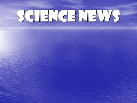 Science News. What is Meteorology? The study of atmospheric phenomena Greek root word meteoros.. High in the air.