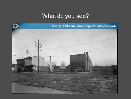 What do you see?. Science and a sense of place final project Lesson Plan : Comparing and contrasting photographs Objectives : -Students.