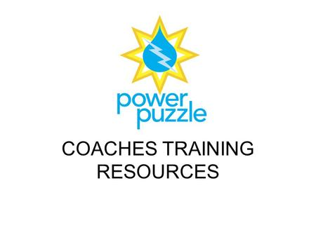 COACHES TRAINING RESOURCES. CONTACT: Norm Kerman 412/681-8673.