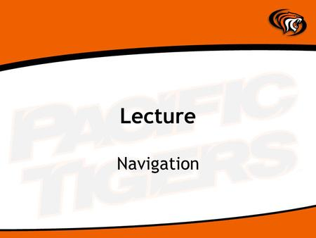 Lecture Navigation. What is Navigation? Hypertext – creates links Process of linking from a page to: –Another page in the same website –Another page on.