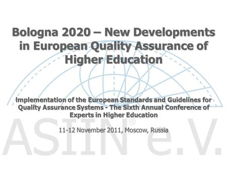 11-12 November 2011, Moscow, Russia