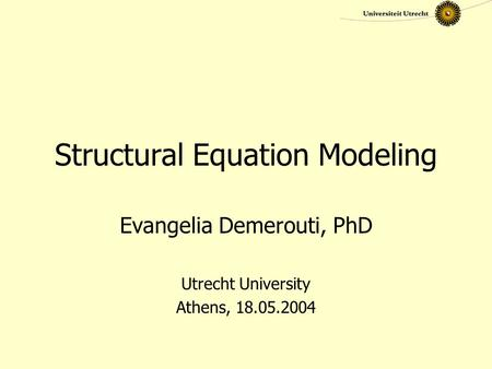 Big data structural equation modeling