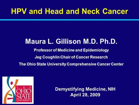 HPV and Head and Neck Cancer