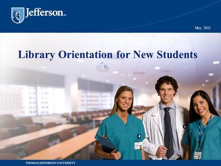 Library Orientation for New Students May 2011. Agenda Technology 1.Pulse & Blackboard Library and Computer Labs 1.JEFFLINE 2.Library Resources, Workshops.