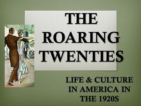 the political social and economic problems that plagued america during the roaring twenties The cultural clash of the 1920s in many ways offers a historical backdrop to issues resonating in american the roaring twenties section in the roaring 20s: a.