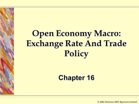 Open Economy