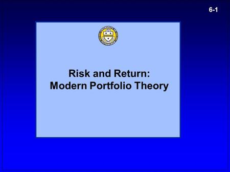 fin 402 modern portfolio theories essay Report this essay similar essays corporate responsibility management employee portfolio: management plan management fundamentals - what do you want to be when you grow up.