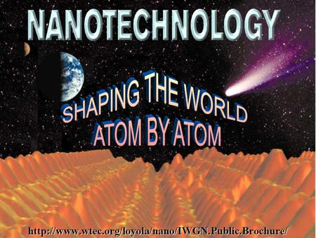 1. 2 3 Nanotechnology is receiving a lot of attention of late across the globe. The term nano originates etymologically from the Greek, and it means.