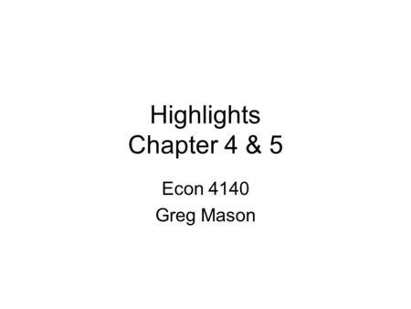 econ 4140