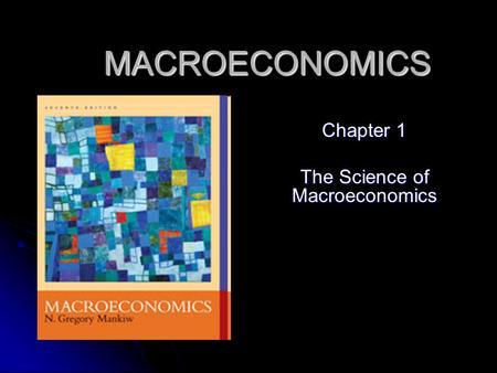 macro economicschapter 3