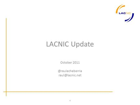 1 LACNIC Update October
