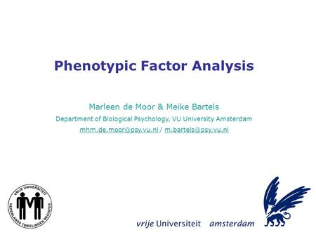 an introduction to the analysis of the amsterdam model Now we can run the graphical var model (i use nlambda = 8 here to speed up   a sparse conditional gaussian graphical model for analysis of genetical  genomics data  with the psychosystems lab at the university of amsterdam   for a brief introduction and fully reproducible example of how to.