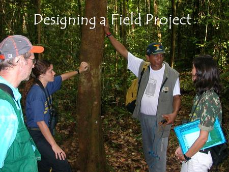 Designing a Field Project. DESIGNING A FIELD RESEARCH PROJECT Every student will be required to do an individual and a group project. Group projects should.