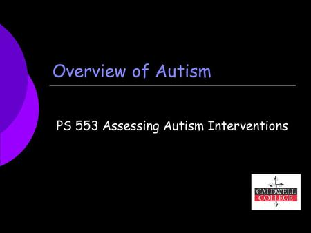 autism general overview of autism At the hope center for autism, our mission is to enable children on the autism spectrum and for their families to live more fully functional lives.