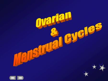 understand the hypothalmo-pituitary-ovarian axis  Understand the ovarian/menstrual cycles with the hormonal interaction in the normal subject.  Understand.
