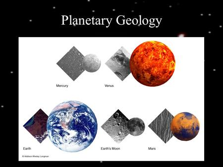 Planetary Geology. Layering of Terrestrial Worlds The process of differentiation separates materials with different densities Dense metals fall.
