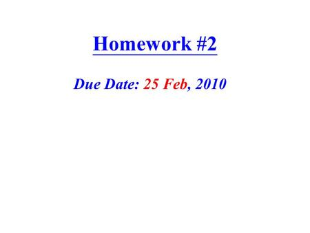 Homework #2 Due Date: 25 Feb, 2010. Problem #1 If you represent the three forces and the couple by an equivalent system consisting of a force F acting.