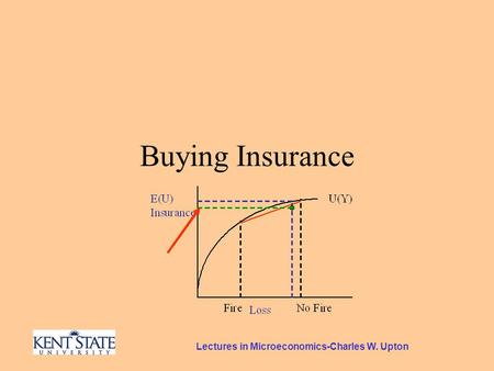 Lectures in Microeconomics-Charles W. Upton Buying Insurance.