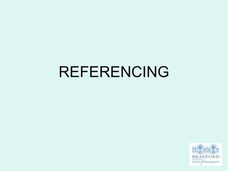 REFERENCING. PLAGIARISM To knowingly take or use another person's invention, idea or writing and claim it, directly or indirectly, to be your own work.
