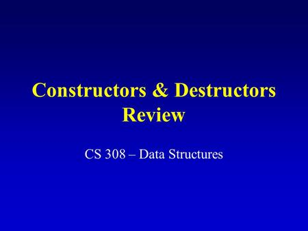 review the destructors Free the destructors papers, essays, and research papers.