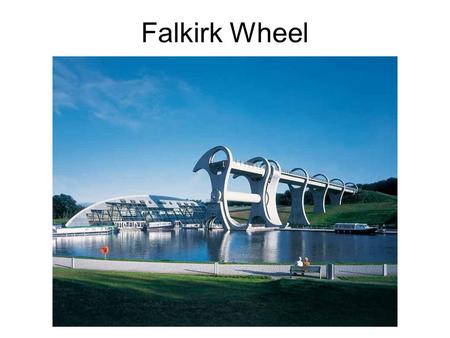Falkirk Wheel. At the beginning there were two canals: Canal Forth and Clyde was built in 1777 between harbors Grangemouth and Falkirk connecting Glasgow.