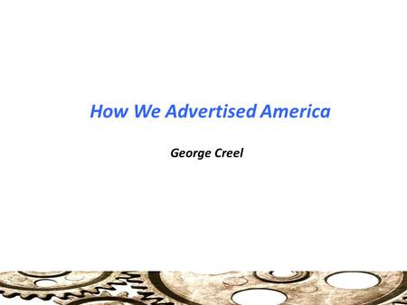 How We Advertised America