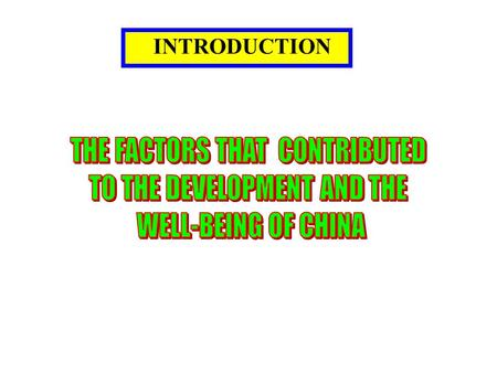 """an introduction to the country of china An introduction to traditional chinese culture since ancient times, china has been known as the """"celestial empire"""" this refers not only to china's strength and position as east asia's middle kingdom, it also captures a more profound meaning, describing a land where the divine and mortal once coexisted."""