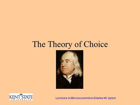 Lectures in Microeconomics-Charles W. Upton The Theory of Choice.