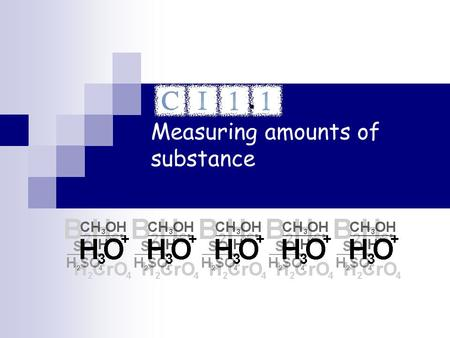 Measuring amounts of substance.. Relative atomic mass The link between the mass of an molecule and the number of atoms it contains is the relative atomic.