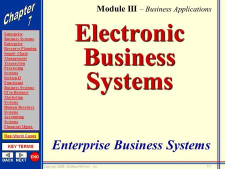Electronic Business <strong>Systems</strong>
