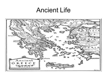 Ancient Life. Xenophon's Oikonomikos Circa 430-354 BC Estate Management.