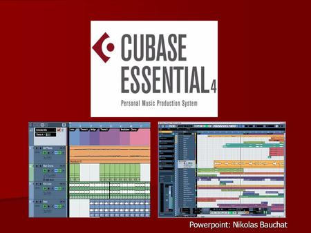 Powerpoint: Nikolas Bauchat. 3 Features of Interest: Quantizing a Midi Track Using the Tempo Track Utilizing the Arranger Track.