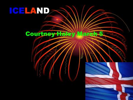 ICELAND Courtney Haley March 5. Iceland Map Iceland Continent Europe.