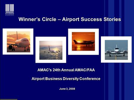 January 10, 2001 Airport System Capacity and Demand Click to edit Master title style Airport System Capacity and Demand AMAC's 24th Annual AMAC/FAA Airport.