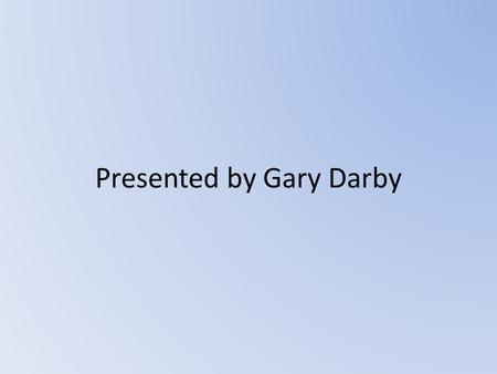 Presented by Gary Darby. Basic Information Game Title NHL 10.