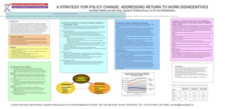 Methods A.Key Guiding questions developed by multi-sectoral national advisory committee for policy and program analysis B. International (Canadian, U.S.,