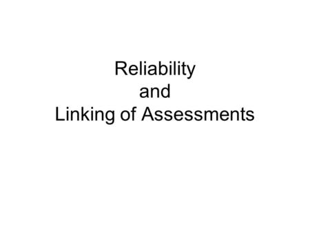 Reliability and Linking of Assessments. Figure 1 Differences Between Percentages Proficient or Above on State Assessments and on NAEP: Grade 8 Mathematics,