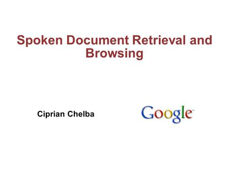 ciprian chelba thesis
