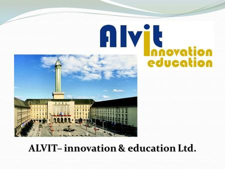 ALVIT– innovation & education Ltd.. Our Company We are a Czech educational company that has been operating since 1994. We are located in the Moravian-Silesian.