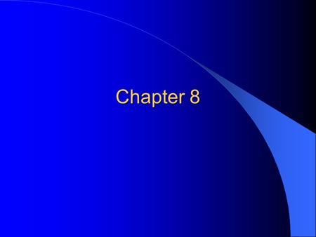 Chapter 8. Valuation and Characteristics of Stock.