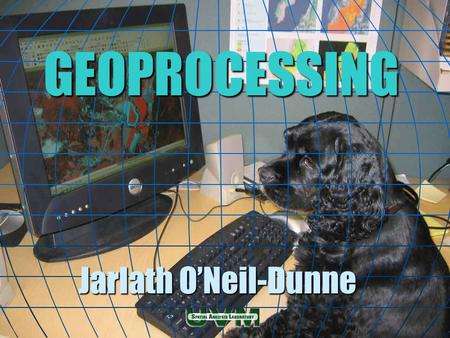 GEOPROCESSING Jarlath O'Neil-Dunne. Geoprocessing Geoprocessing is the processing of geographic information. Geoprocessing is the processing of geographic.