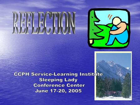 CCPH Service-Learning Institute