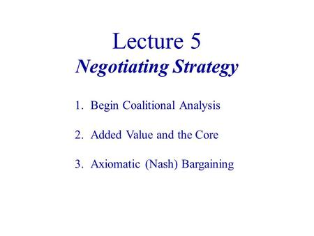 negotiation strategy article analysis 1 Negotiation strategy article analysis university of phoenix mgt 445 (2 pages | 710 words) negotiation strategy article analysis negotiation can be described as the bargain at the individual or collective level to gain the advantages and opportunities by satis.